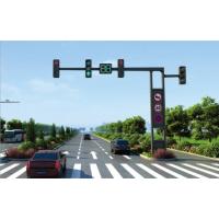 交通信号灯杆红绿灯杆马路监控F臂杆一体框架信号灯道路指示牌杆