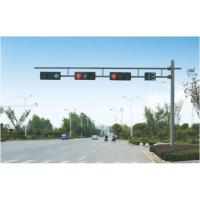 交通信号灯杆 红绿灯交通信号灯杆人行道红黄绿交通指示灯杆厂家