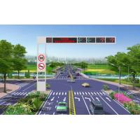 一体化框架道路交通信号灯信号灯杆交通防水红绿信号灯