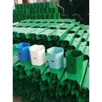波形镀锌护栏厂家  喷塑镀锌立柱  防阻块 喷塑护栏板批发